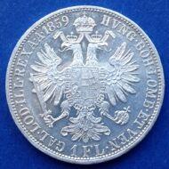 1859 A Ferenc József 1 florin ezüst érme
