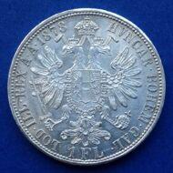 1878 Ferenc József 1 florin ezüst érme
