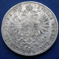 1878 1 Florin Ferencz József ezüst érme