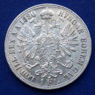 1880 Ferenc József 1 florin ezüst érme