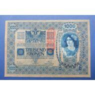 1902 1000 korona bankjegy