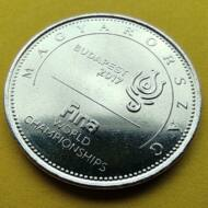 2017 50 forint FINA vizes világbajnokság verdefényes emlékérme rollniból Numizmatika - Érmék, érme