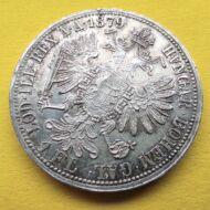 1879 1 Florin Ferencz József ezüst érme