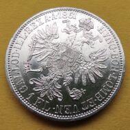 1861 1 Florin Ferencz József ezüst érme