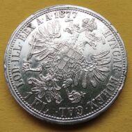 1877 1 Florin Ferencz József ezüst érme