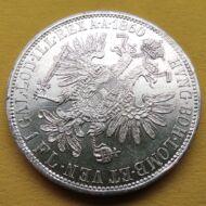 1860 1 Florin Ferencz József ezüst érme