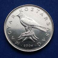 2004 50 forint  verdefényes érme rollniból
