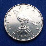 2018 50 forint  verdefényes érme rollniból