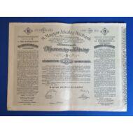 Magyar Jelzálog- Hitelbank nyeremény kötvény 100 korona 1906 B sorozat