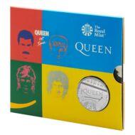 2020 5 Font 50 éves a Queen együttes emlékérme BU kivitel díszcsomagban Hot Space