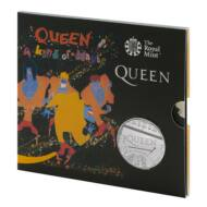 2020 5 Font 50 éves a Queen együttes emlékérme BU kivitel díszcsomagban A kind of magic