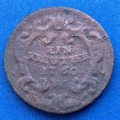 1760 Ein kreutzer W (1 krajcár)