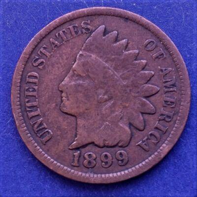 1899 Indian Head cent amerikai réz érme