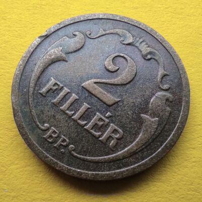1931 2 fillér érme Numizmatika - Érmék, érme