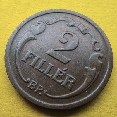1937 2 fillér érme Numizmatika - Érmék, érme