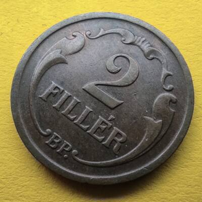 1938 2 fillér érme