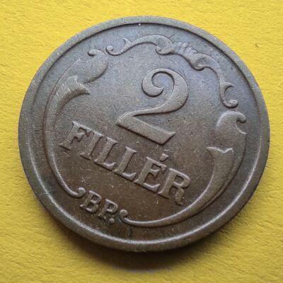 1938 2 fillér érme Numizmatika - Érmék, érme