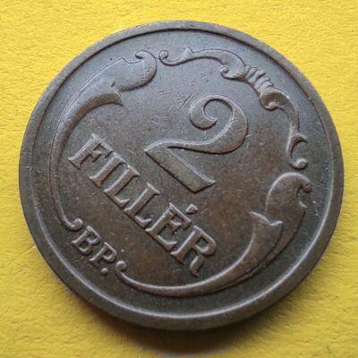 1939 2 fillér érme