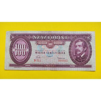 1957 100 forint bankjegy Numizmatika - bankjegyek