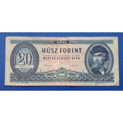 1960 20 Forint Ritka Bankjegy! Numizmatika - bankjegyek