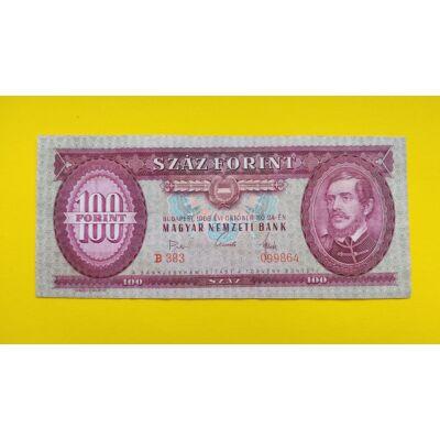 1968 100 forint bankjegy (Nagy aláírás) Numizmatika - bankjegyek