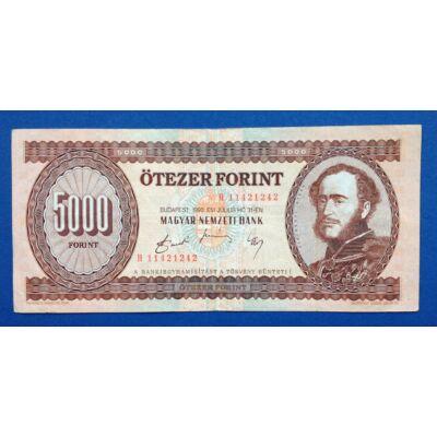 1990 5000 forint VF bankjegy H sorozat
