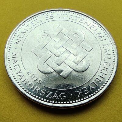 2015 50 forint Nemzeti emlékhelyek verdefényes emlékérme rollniból Numizmatika - Érmék, érme