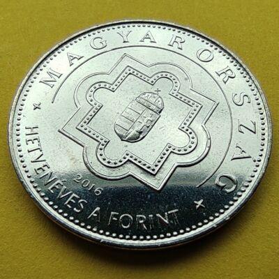 2016 50 forint 70 éves a forint verdefényes emlékérme rollniból Numizmatika - Érmék, érme