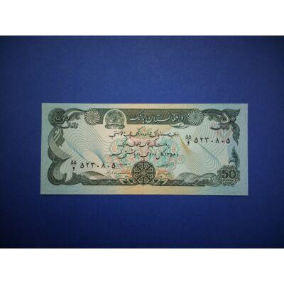 1979 Afganisztán 50 Afganis UNC bankjegy. Sorszámkövető is lehet! Numizmatika - bankjegyek