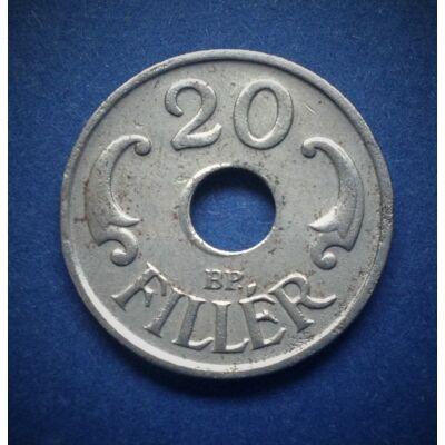 1941 20 fillér XF érme