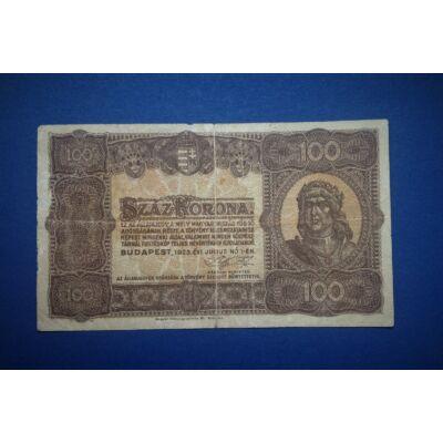 1923 100 korona bankjegy