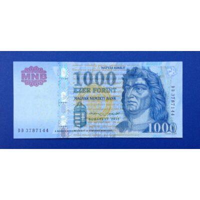 2015 1000 forint DD UNC bankjegy