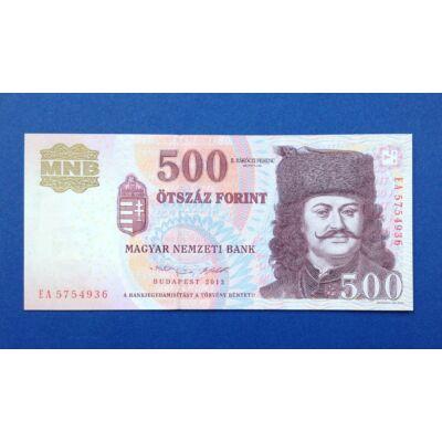 2013 500 forint EA sorozat UNC bankjegy