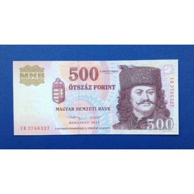 2013 500 forint EB sorozat UNC bankjegy Numizmatika - bankjegyek