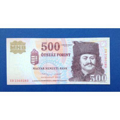 2013 500 forint ED sorozat UNC bankjegy