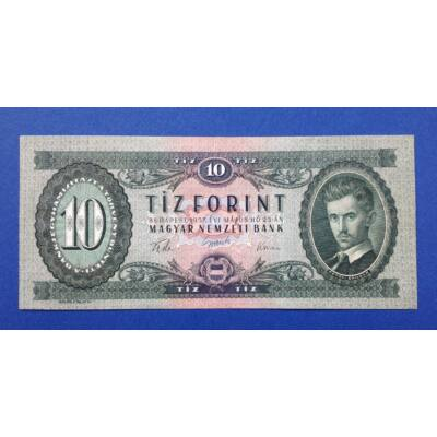 1957 10 forint Extra fine bankjegy Numizmatika - bankjegyek
