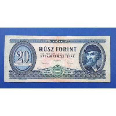 1957 20 forint Very fine bankjegy