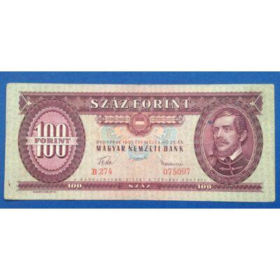 1957 100 forint bankjegy előlap