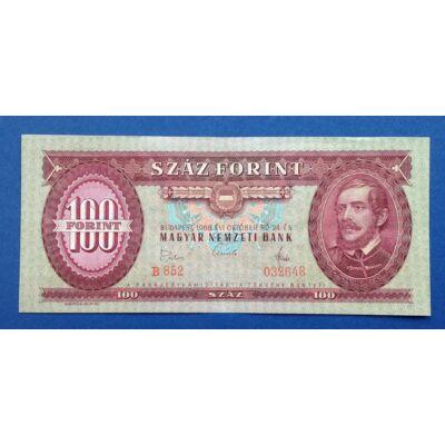 1968 100 forint bankjegy előlap