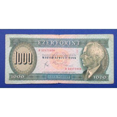 1983 1000 forint bankjegy November B sorozat előlap