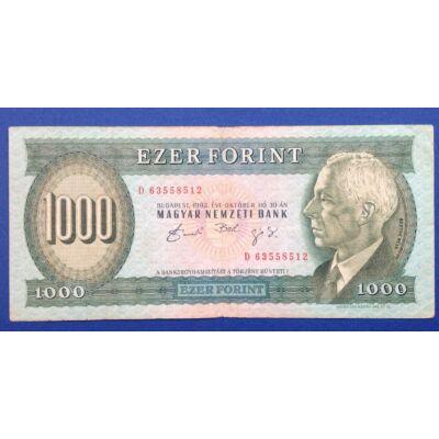 1992 1000 forint bankjegy Október D sorozat