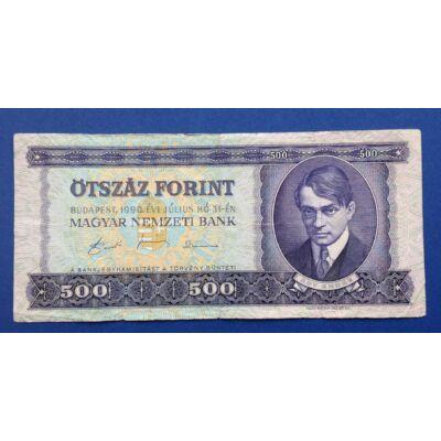 1990 500 forint bankjegy alacsony sorszám