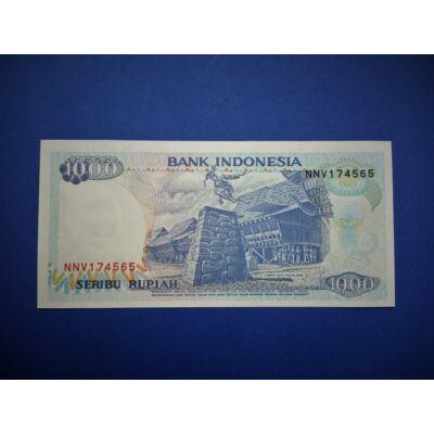 1992 Indonézia 1000 Rupiah UNC bankjegy. Sorszámkövető is lehet!