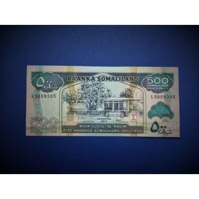 2011 Szomália 500 Shillings UNC bankjegy. Sorszámkövető is lehet! Numizmatika - bankjegyek