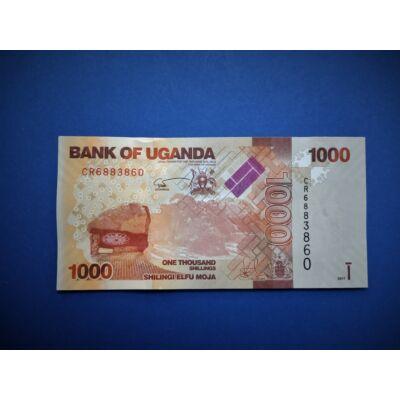 2017 Uganda 1000 Shillings UNC bankjegy. Sorszámkövető is lehet! Numizmatika - bankjegyek