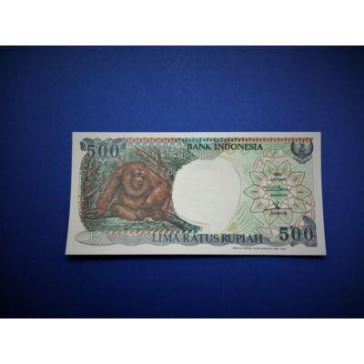 1992 Indonézia 500 Rupiah UNC bankjegy. Sorszámkövető is lehet!