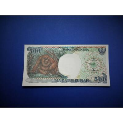 1992 Indonézia 500 Rupiah UNC bankjegy. Sorszámkövető is lehet! Numizmatika - bankjegyek