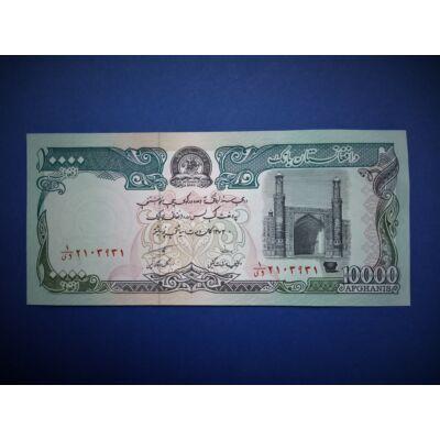 1993 Afganisztán 10000 Afghanis UNC bankjegy. Sorszámkövető is lehet!