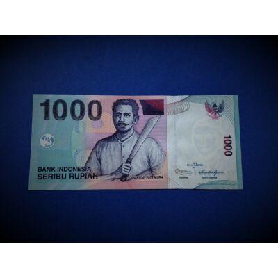 2009 Indonézia 1000 Rupiah (Rúpia) UNC bankjegy. Sorszámkövető is lehet!